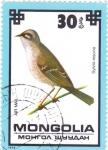 Stamps Asia - Mongolia -  AVE- Sylvia nicoria