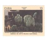 de America - Cuba -  Obras de arte museo nacional. Jardines de Mallorca