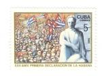 Sellos del Mundo : America : Cuba : XXV Aniversario primera declaración de la Habana