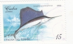 Stamps : America : Cuba :  fauna del Caribe