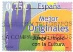 Sellos del Mundo : Europa : España : contra la piratería