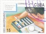 Stamps : America : Cuba :  XXX Aniversario Federación Filatélica cubana