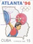 Stamps : America : Cuba :  Atlanta