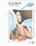 Stamps of the world : Cuba :  juegos deportivos panamericanos Mar del Plata