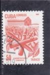 Stamps : America : Cuba :  exportaciones cubanas -tabaco