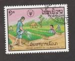 de Asia - Laos -  Día mundial de la alimentación