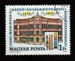 de Europa - Hungría -  II Centenario de la Escuela de Bellas Artes