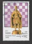 de Asia - Afganistán -  Figuras del ajedrez