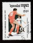 de Asia - Camboya -  Copa mundial futbol San Francisco
