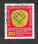 Stamps Europe - Germany -  401 - Conferencia del Ministerio Postal