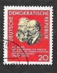 Stamps Europe - Germany -   822 - VI Conferencia de Correos en Pekin