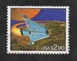 Stamps America - United States -  2180 - Conquista espacial