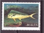 Sellos del Mundo : Europa : Malta : Fauna marina