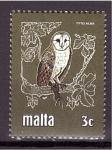 Stamps Malta -  serie- Protección de la Naturaleza