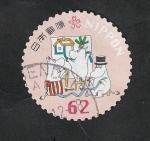 Sellos de Asia - Japón -  Moomins