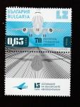 Sellos del Mundo : Europa : Bulgaria : 70 aniv de la aviación civil