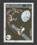 Sellos del Mundo : America : Nicaragua : Intelsat