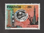 Sellos del Mundo : Africa : Rwanda : Apolo-Soyuz