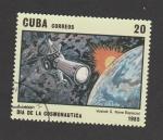 Sellos del Mundo : America : Cuba : Día de la cosmonaútica