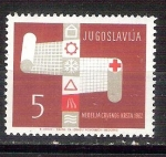 Sellos de Europa - Yugoslavia -  Cruz Roja RESERVADO