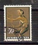 Sellos del Mundo : Europa : Yugoslavia : estatua