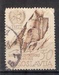 Sellos de Europa - Yugoslavia -  tesoros de Nubia RESERVADO