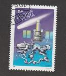Sellos de Europa - Hungría -  Satélite Astron