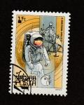 Sellos del Mundo : Europa : Hungría : Astronauta armstrong