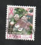 Sellos del Mundo : Europa : Letonia : 851 - Flores
