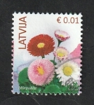 Stamps Europe - Latvia -  Flores