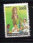 sello : Asia : Indonesia : médicos