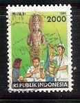Stamps of the world : Indonesia :  médicos