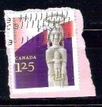 Sellos de America - Canadá -  arte indigena