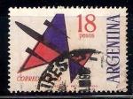 de America - Argentina -  avión