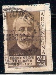 Sellos de America - Argentina -  florentino amechino