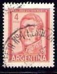 Sellos de America - Argentina -  san martin