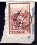 Sellos de America - Argentina -  fuente del inca