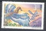 Sellos de Europa - Bulgaria -  dinosaurio archaeopteryx RESERVADO