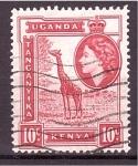 de Africa - Uganda -  serie- paisajes Isabel II