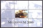 de Asia - Turkmenistán -  Milenio 2000