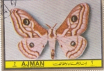 Stamps : Asia : United_Arab_Emirates :  mariposa