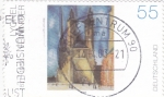 Stamps Germany -  Halle Market Church