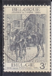 Stamps of the world : Belgium :  día del sello -1964