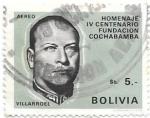 Stamps Bolivia -  IV centenario Cochabamaba