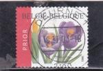 Stamps Belgium -  flores-