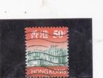 Sellos del Mundo : Asia : Hong_Kong : rascacielos hong kong