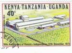 Stamps : Africa : Kenya :  10º aniversario de Kenia INdependiente