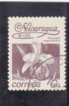 Stamps : America : Nicaragua :  flores- sobralia