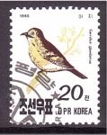 Sellos de Asia - Corea del norte -  serie- Pajaros