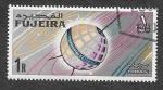 Stamps United Arab Emirates -  Yt59 - Satélite de Comunicaciones